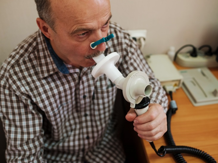 The Diagnostic procedures of lung disease